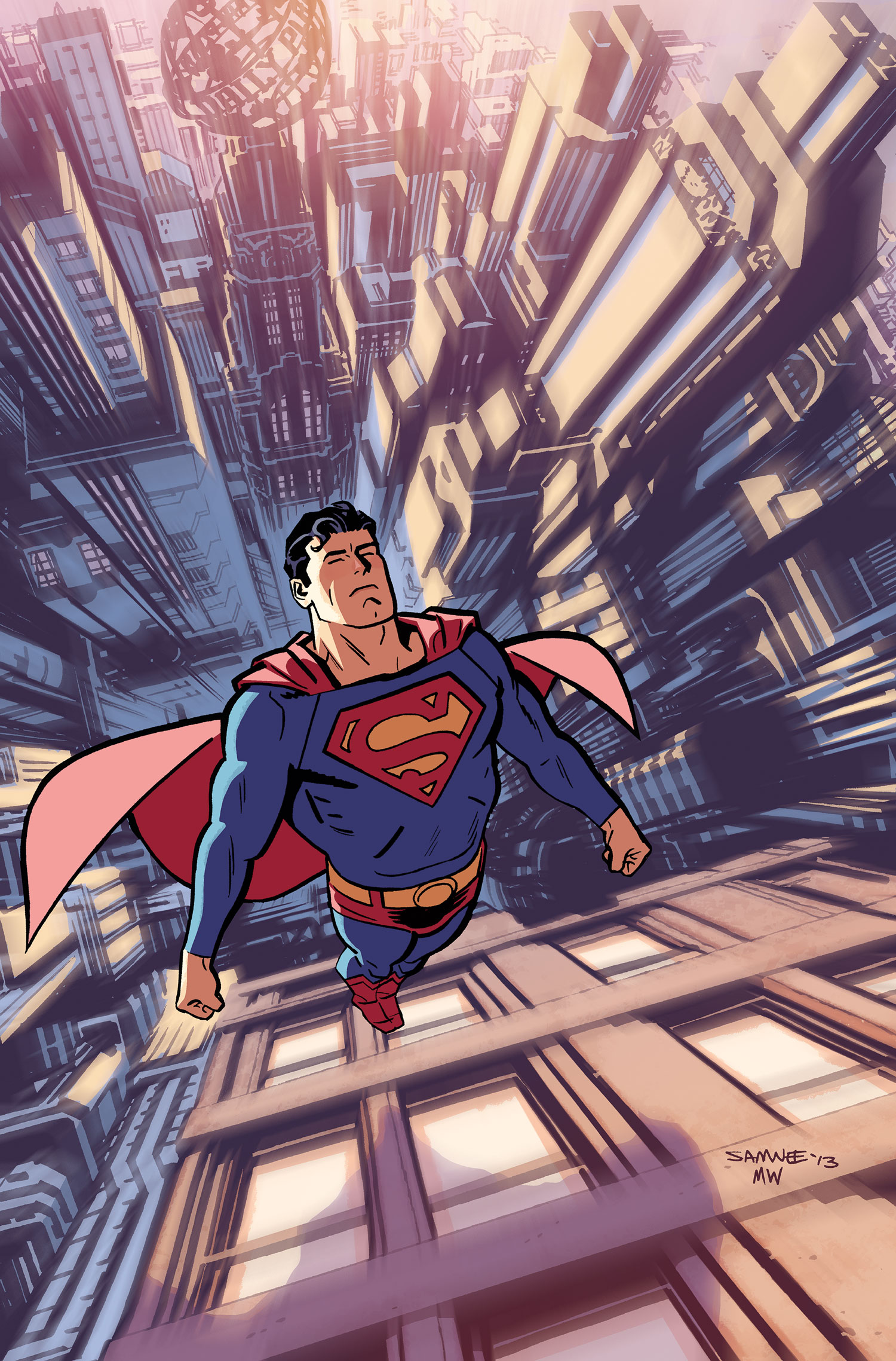 two kings comics brings you the adventure time of superman