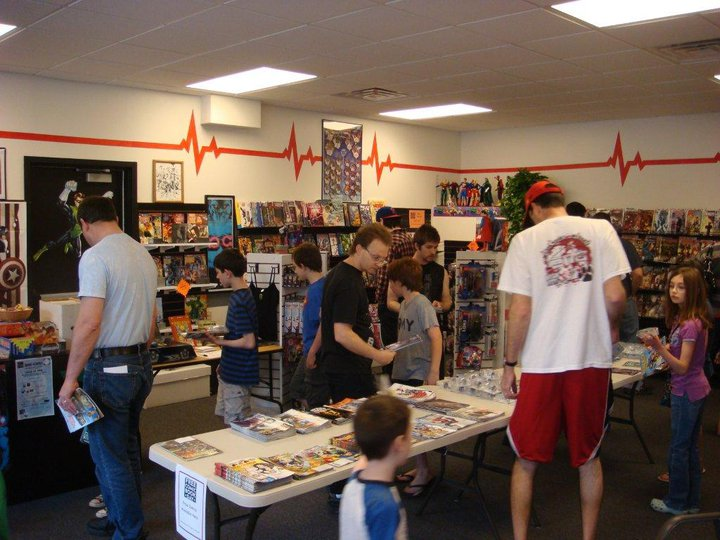 With Free Comic Book Day for the community