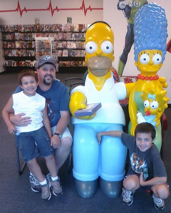 And the Simpsons