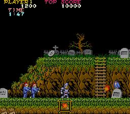 October - Ghosts N' Goblins Winner: Dan D